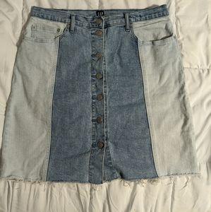 GAP genuine denim Skirt